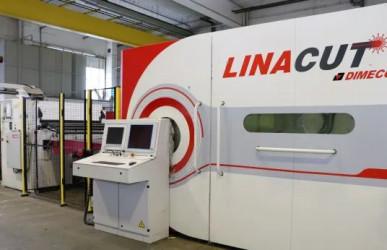 DIMECO LINACUT Coil-Faser-Laserschneidanlage