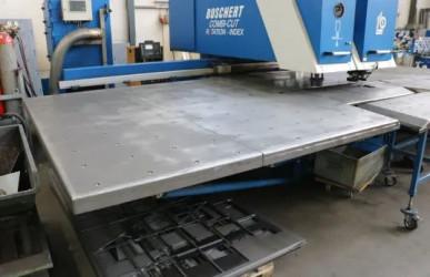 BOSCHERT Combi-Cut 1250 Kombinierte CNC-Stanz- & Plasmaschneidanlage